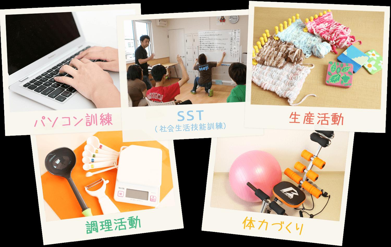 青森県弘前市 のNPO法人 team. Step by step「NEXT」では、就労移行支援・自立支援(生活訓練)などを行います